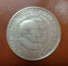STATI UNITI MEZZO DOLLARO WASHINGTON CARVER 1951 ARGENTO 900 gr 12,5 SUBALPINA