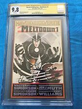 Havok & Wolverine Meltdown #1 - CGC SS 9.8 NM/MT - Signed by W & L by Simonson