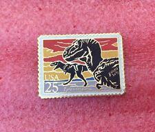 Pins DINOSAURE Tyrannosaurus Tyrannosaure Timbre Poste USA