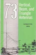 73 Vertical, Beam and Triangle Antennas * Antenna Building * CDROM - PDF * KE3GK