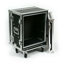 12 Space Effects ATA Shock Mount Rack Road Case with Wheels