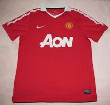 Manchester United 2011 Red Devils Home Nike Jersey 2010 Men M