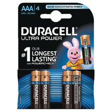 Duracell Ultra Power AAA Batteries (Pack of 4) 75051959