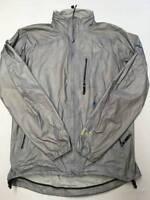 Mens MOUNTAIN HARDWEAR Gray Z Weld Rain Jacket Sz M Waterproof
