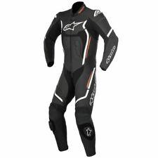 Alpinestars Motegi V2 Black Red 1PC Leather Motorcycle Race Suit