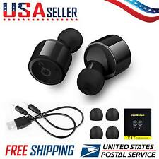 Mini Wireless Bluetooth Earbuds With Mic True Bass Twins Stereo In-Ear Earphone