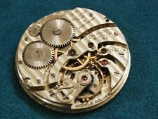 Nice Vintage 1929 South Bend 429 19J Pocket Watch Movement -- For Repair /Parts