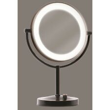 Giagni Oil Rubbed Bronze Double-Sided 5x Magnifying Countertop Vanity Mirror New