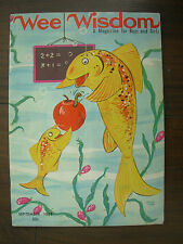 VINTAGE AMERICAN CHILDREN'S COMIC WEE WISDOM SEPTEMBER 1968 FOR BOYS AND GIRLS