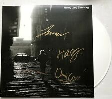 HONEY LUNG - MEMORY SIGNED WHITE RECORD AUTOGRAPHED