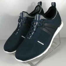 253209 MS38 Men's Shoes Size 8.5 M Navy Fabric Lace Up Casual Johnston & Murphy