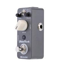 Mooer Shim Verb Micro Mini Digital Reverb Effect Pedal for Electric Guitar H0O3