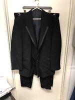Oscar De La Renta Tuxedo Size 50R Pants Size 42x30 Black L-881