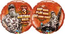 Duck Dynasty 3 Birthday Rules 18 Inch Foil Balloon