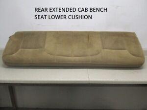 99 00 1999 2000 Silverado Sierra Extended Cab Rear Lower Bench Seat Cushion OEM