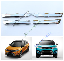 4x Front Mesh Bumper k Grille Grill Trim Modified For Suzuki GRAND Vitara 2015