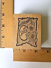 The Cottage Stamper Rubber Stamp - Nasturtium Seed Pack - F1473 - NEW