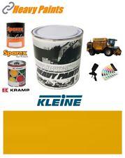 More details for kleine machinery yellow paint high endurance enamel paint 1 litre tin