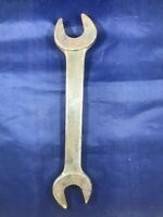 "Antique Vintage Herbrand 1033-A Open End Wrench 7/8"" and 15/16"" Made in USA"