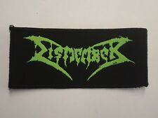 DISMEMBER DEATH METAL WOVEN PATCH