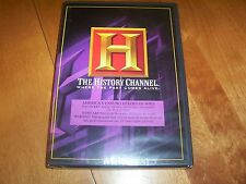 AMERICA'S UNSUNG HEROES OF WWII World War II History Channel RARE DVD SET NEW