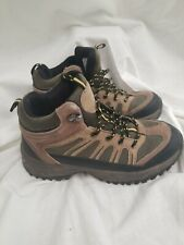 Bearpaw Brown Waterproof Hiking Trail Shoes Boots Men's Sz.5 Women's Sz.7