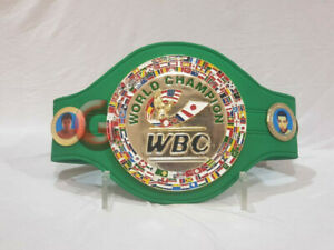 WBC WORLD Boxing Council Championship Replica Belt Adult Size