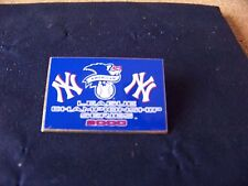 2000 ALCS American League Championship Series NY New York Yankees pin