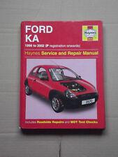 Haynes, Ford KA manual, MK 1