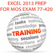 Excel 2013 pour MOS Certification Exam 77-420 - Video Training Tutorial DVD