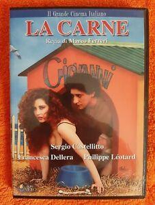 La carne (1991) DVD fuori catalogo raro Ferreri Castellitto Dellera