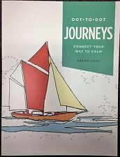 Journeys DOT TO DOT Adult NEW Paperback DOT-TO-DOT Puzzles GROWN UP Self HELP