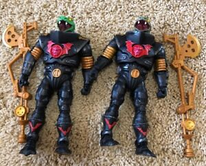 2019 Power-Con Exclusive Snake Troopers Both Colors MOTUC Collector Choice LOOSE