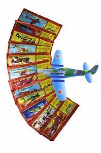 12 x Styroporflieger zum Zusammenbauen in versch. Motiven - Flugzeug Gleiter