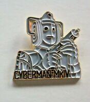 Doctor Who Cyberman Mk-IV Enamel Pin - New