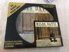 Miles Davis Milt Jackson All-Stars Quintet Sextet DCC Gold Audiophile CD