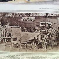 m1e ephemera ww1 1916 picture british soldiers open air club cairo