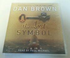 AUDIO BOOK CD - The Lost Symbol By Dan Brown Read By Paul Michael 5 CD Abridged