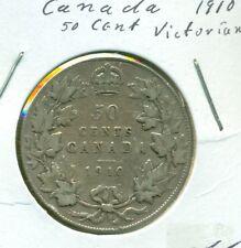 Canada 1910 50 cents Fine