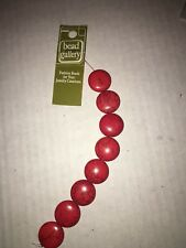 Howlite 8 Stone Beads dyed Howlite 20 mm Red, Bead Gallery, Semi Precious