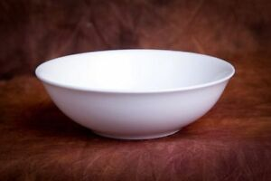 Fine Bone China Schüssel rund 15,5 cm, 400 ml, NEU, Porzellan, Weiss