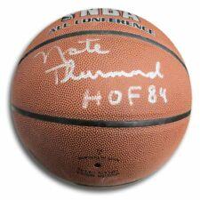 Nate Thurmond Signed Autographed Spalding Basketball Warriors HOF 84 JSA DD73532