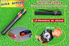 PUNTERO LASER PROFESIONAL color ROJO alcance 10 km VISUAL FAULT