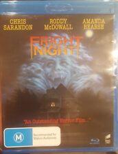 FRIGHT NIGHT RARE DELETED BLU-RAY VAMPIRE HORROR CHRIS SARANDON, RODDY McDOWALL