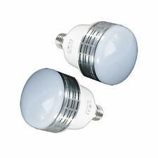 2PCS LED 60W Bulb Lamp 2 Pack Photography Studio Lighting 90 CRI 5000 Lumens