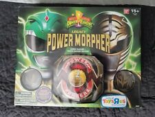 Bandai Mighty Morphin Power Rangers Legacy Morpher Green White Ranger NEW SEALED