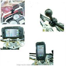 IPX4 Waterproof Motorcycle Bike CrossBar / Rail Mount for iPhone 5C