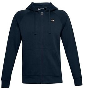 Under Armour Mens UA Rival Fleece Full Zip Hoodie New 2021 - Pick Size and Color