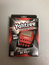 Yahtzee Digital Handheld Game