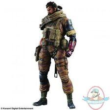 Metal Gear Solid V The Phantom Pain Play Arts Kai Snake Gold Tiger Ver